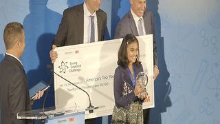 12-year-old girl named top scientist after creating water lead testing device - Video
