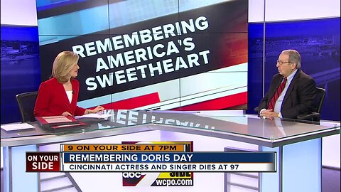 Cincinnati man recalls family connections with Doris Day