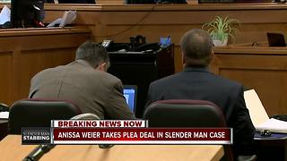 Slender Man suspect Anissa Weier agrees to plea deal