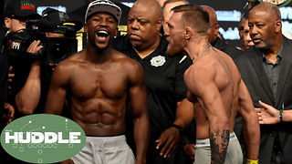 Should Floyd Mayweather Give Conor McGregor a REMATCH? -The Huddle - Video