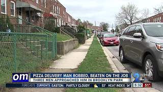 Pizza Boli's employee punched in the face, robbed while making delivery