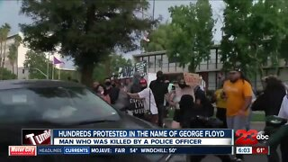 23ABC recaps Friday night's protest in Downtown Bakersfield