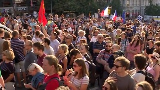 Thousands Protest Against Reappointment of Czech Prime Minister
