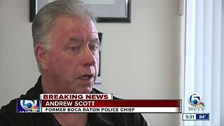 Former police chief reacts to Scot Peterson's arrest