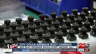 City Council expected to vote on BPD body cameras