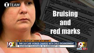 Former Rainbow Child Care worker charged with child endangering