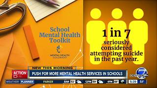 Colorado schools get help to provide mental health resources