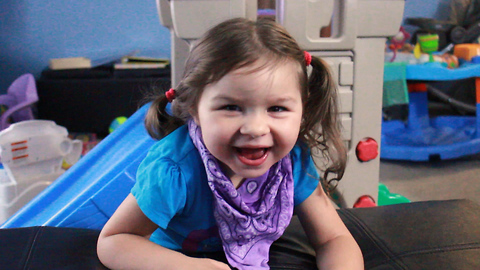 Rare Disorder Prevents Toddler Girl From Sleeping