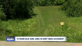11-year-old killed in dirt bike accident