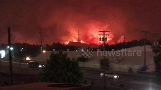 Carr Fire jumps Sacramento River as residents evacuate - Video
