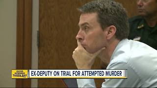 Ex-Sarasota Deputy on trial for attempted murder - Video