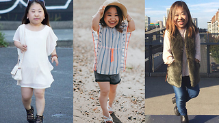 Little Fashion Blogger With Big Style | BORN DIFFERENT - Video