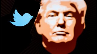 Twitter Drops 10% After Banning Trump