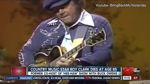 Remembering Roy Clark, country music star and 'Hee Haw' host
