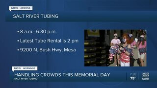 Memorial Day tubers asked to follow safety guidelines