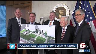 City-County Building plaza named after former Indianapolis mayor Richard Lugar - Video