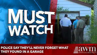Police say they'll never forget what they found in a garage - Video