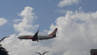 Boeing 737-800 PR-GUP before to land in Manaus coming from Fortaleza