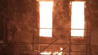 Glasgow Residents Evacuated After Historic Art School is Engulfed in Flames - Video