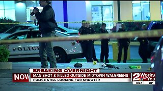 Man shot, killed outside midtown Walgreens