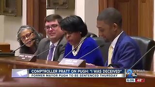 Baltimore comptroller Joan Pratt says she feels 'deceived' by former mayor Catherine Pugh