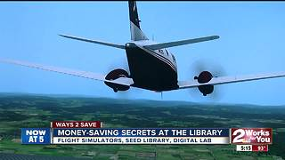 Ways 2 Save: Money-saving secrets at the library part 1 - Video