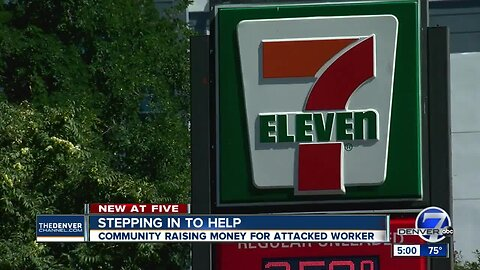 Denver bar raising funds for 7-Eleven clerk who was attacked while she says customers stood by