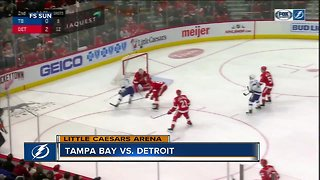 Tampa Bay Lightning beat Detroit Red Wings 6-5 in shootout