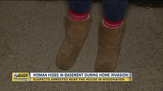 Suspects arrested near house in Woodhaven