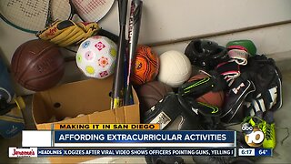 Making it in San Diego: Affording Extracurricular Activities