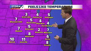 Cold continues into Tuesday night - Video