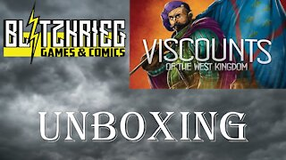 Viscounts of the West Kingdom Unboxing Garphill Games