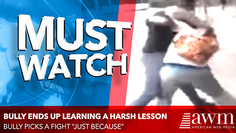 """Bully Picks A Fight """"Just Because"""", Ends Up Learning A Harsh Lesson In Karma"""