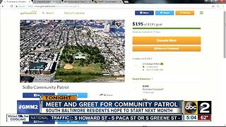 Meet and greet for south Baltimore patrol - Video