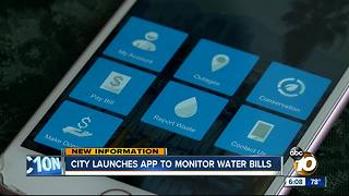 New city app helps customers monitor water bills - Video