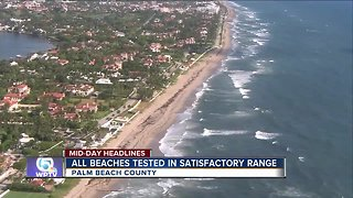 All Palm Beach County beaches in satisfactory condition