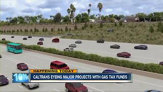 Caltrans eyeing major projects with gas tax funds - Video