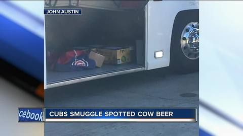 Chicago Cubs busted 'smuggling' Spotted Cow beer back to Illinois