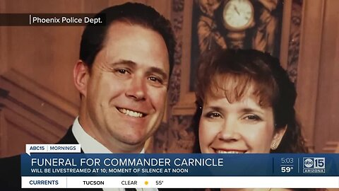 Funeral to be held for Commander Carnicle on Tuesday