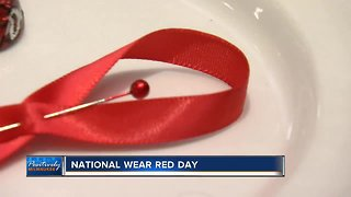 Thousands wear red to promote women's heart health