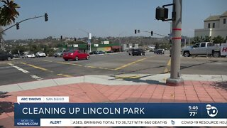 Community group cleans up troubled site in Lincoln Park