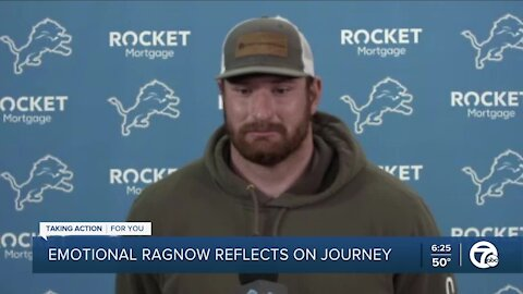 Emotional Frank Ragnow reflects on NFL journey