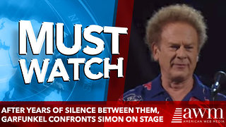 After Years Of Silence Between Them, Garfunkel Confronts Simon On Stage - Video