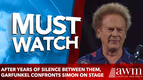 After Years Of Silence Between Them, Garfunkel Confronts Simon On Stage