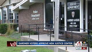 Gardner voters approve new justice center - Video