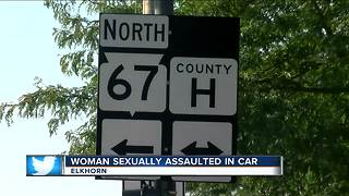 Woman sexually assaulted in Elkhorn parking lot - Video