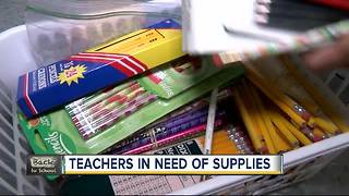 Help teachers stock their classrooms for success - Video
