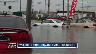 Flood waters run small business owners and customers away in Hillsborough Co. - Video