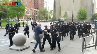 75-year-old man pushed by Buffalo police is long-time activists