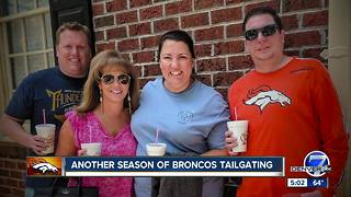 Wish comes true for Broncos super fan fighting cancer